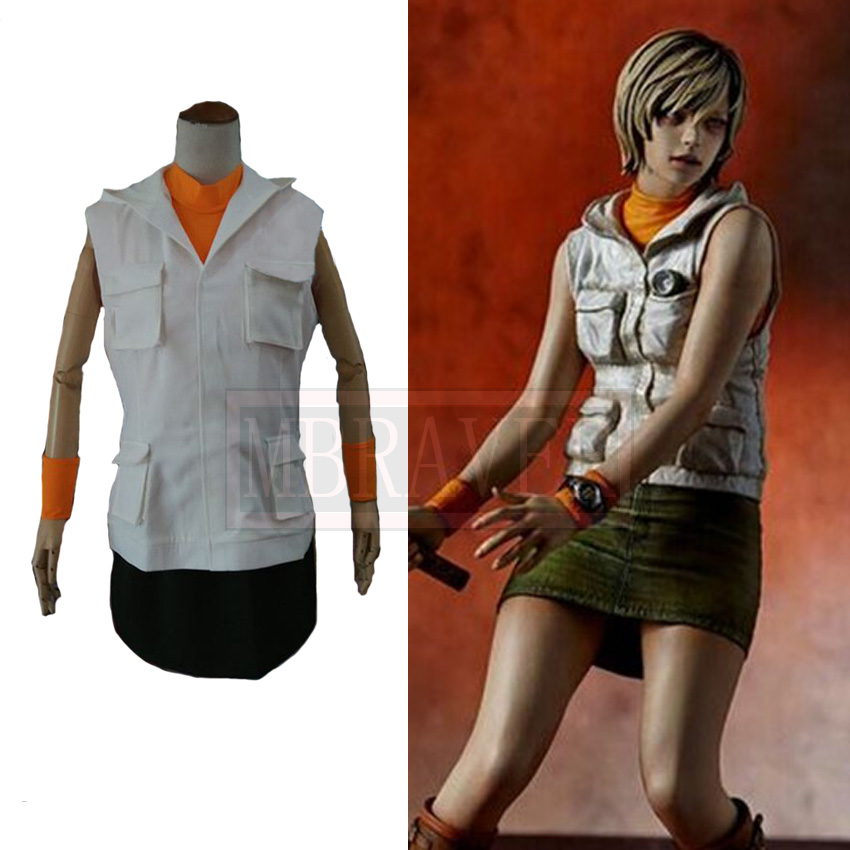 Game Silent Hill Heather Mason Costume Adult Women Halloween Carnival Cosplay Clothes Custom Made Free Shipping image