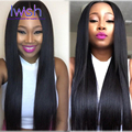 Iwish Official Store Malaysian Straight Virgin Hair 4 Bundle Deals 7A Human Hair Bundles Malaysian Virgin Hair Straight Weave