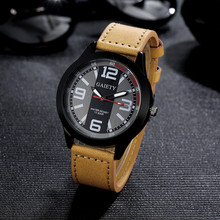 Watches for Men Retro Design Luxury Stainless steel Leather Analog