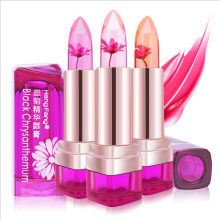 Hot Sale Flower Jelly Lipstick Temperature Change Moisturizer Lipstick