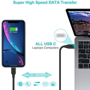 Image 3 - CHOETECH MFi PD Kabel USB C zu Blitz Kabel Schnelle Lade Synchronisieren Kabel Kompatibel für iPhone X XR XS MAX 8 7 Plus 11 iPad pro