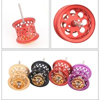 DIY Fishing reels parts metal spool Line cup Refit Accessories Four Color Available For Daiwa Reel 16/17/19 Black Spider pesca