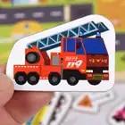 30 cm Baby Spielzeug Montessori holz Puzzle/Hand Greifen Bord Set Pädagogisches Holz Spielzeug Cartoon Fahrzeug/Marine Tier puzzle Kind - 5