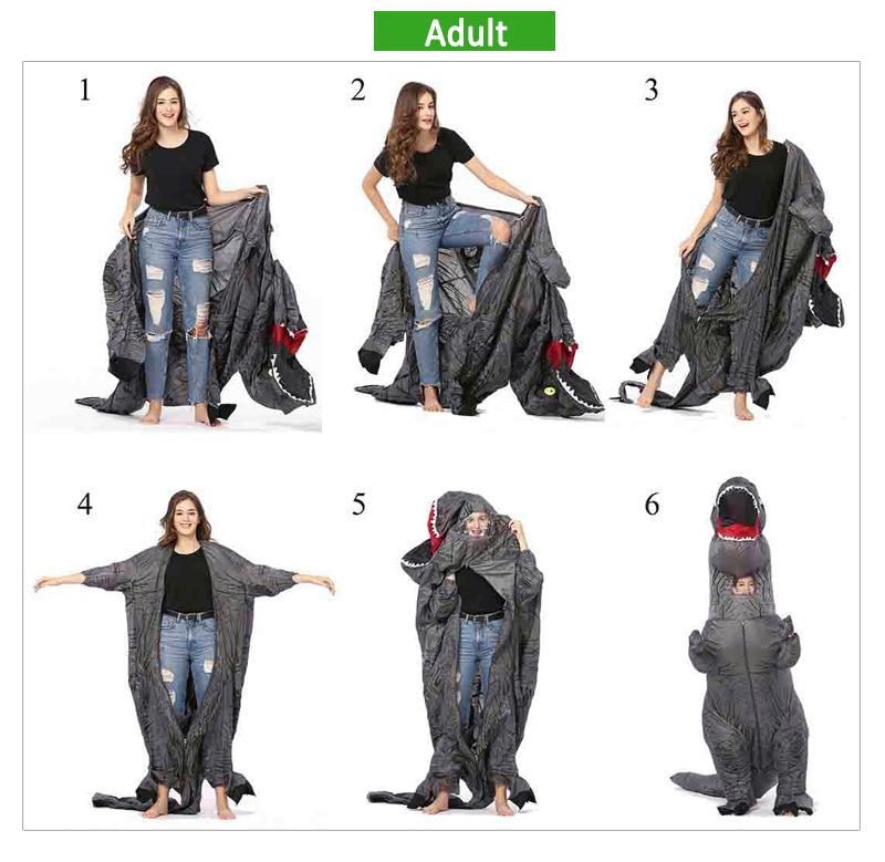 inflatable dinosaur costume-21