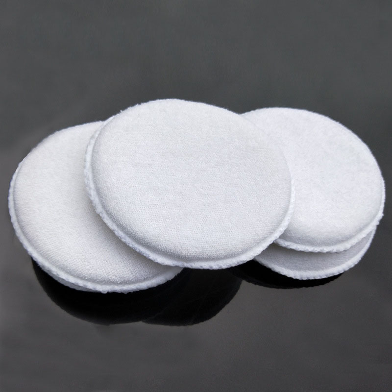 Image 2 - 3PCS soft microfiber polishing sponge car wash care car waxing cotton white applicator pad car detail-in Sponges, Cloths & Brushes from Automobiles & Motorcycles