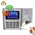 ZK MU260 13 56 MHZ MF Karte Biometrische Zeiterfassung Zeiterfassung IC Karte Zeit Clock Mitarbeiter Teilnahme Mit WIFI-in Elektrische Teilnahme aus Sicherheit und Schutz bei