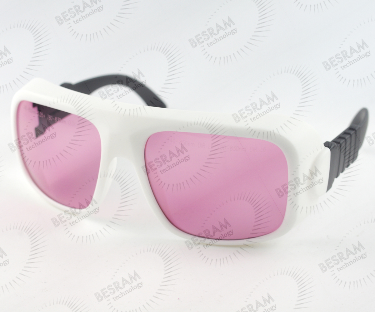 Laserland LP-ATD-36 740nm-850nm OD5+ 780nm830nm OD6+ Laser Protective Goggles Safety Glasses 36# CE