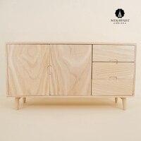 1/6 Scale New BJD Furniture Dollhouse Wooden Cabinet Miniature Handmade Pretend Mini Doll Furniture