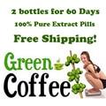 2 meses de suministro de café Verde extracto de frijol/dieta a base de hierbas extracto de producto de pérdida de peso de café verde para adelgazar bajar de peso salud
