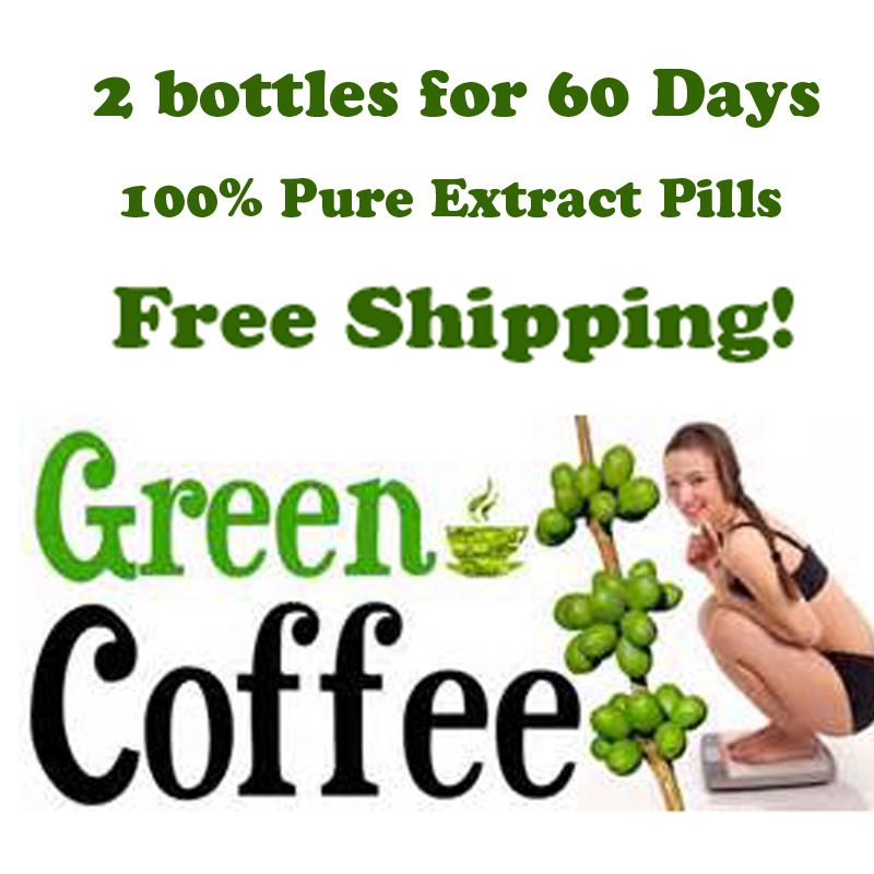 2 months supply Green coffee bean extract/diet herbal extract weight loss green...