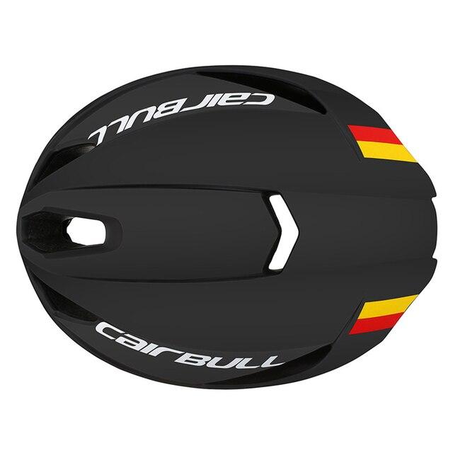 Cairbull novo capacete pneumático de velocidade, capacete esportivo de corrida para bicicleta de estrada, modelo aerodinâmico para ciclismo, aero 5