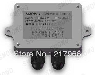Free shipping 1PCS Strain Gauge Amplifier Dual signal output 0 10V 4 20mA UU 90