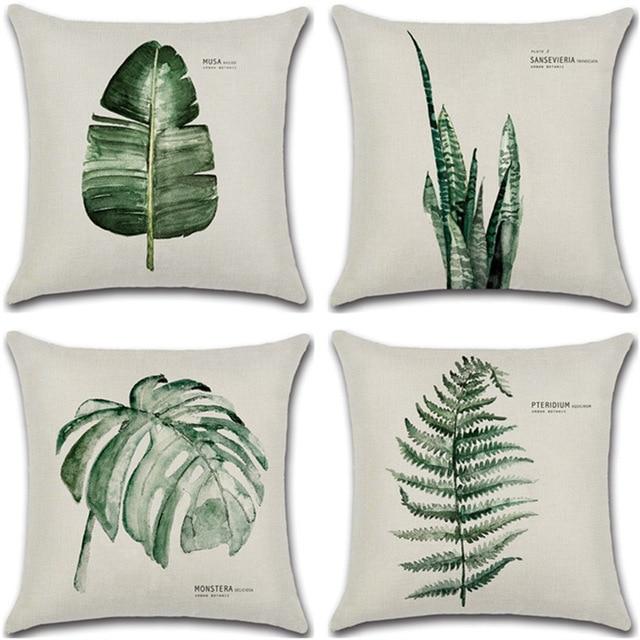 Botanical Cushion Covers 1