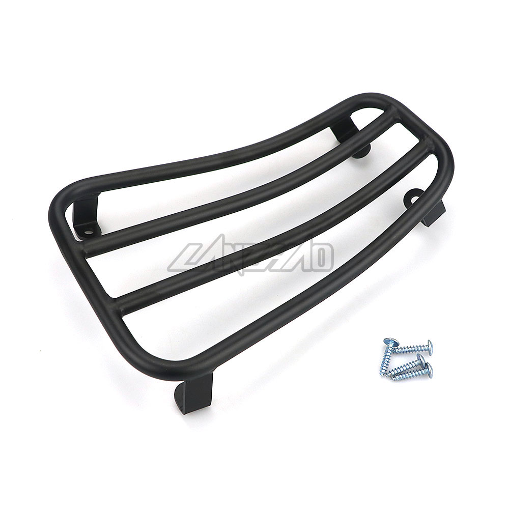 Motorcycle Foot Rest Luggage Rack Case Shelf Holder Black for Piaggio Vespa Sprint Primavera 150 2017 2018 2019 Accessories-in Foot Rests from Automobiles & Motorcycles    2