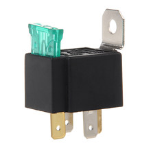 4-Pin 30A Relays Automatic With Fuse Relay 12V DC Coil Voltage -Y103(China)