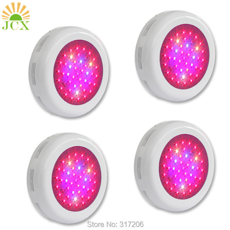 Hot sale 135W UFO led grow lights 45X3w full spectrum light for hydroponics greenhouse plants grow tent/box 90w ufo led grow light 90 pcs leds for hydroponics lighting dropshipping 90w led grow light 90w plants lamp free shipping