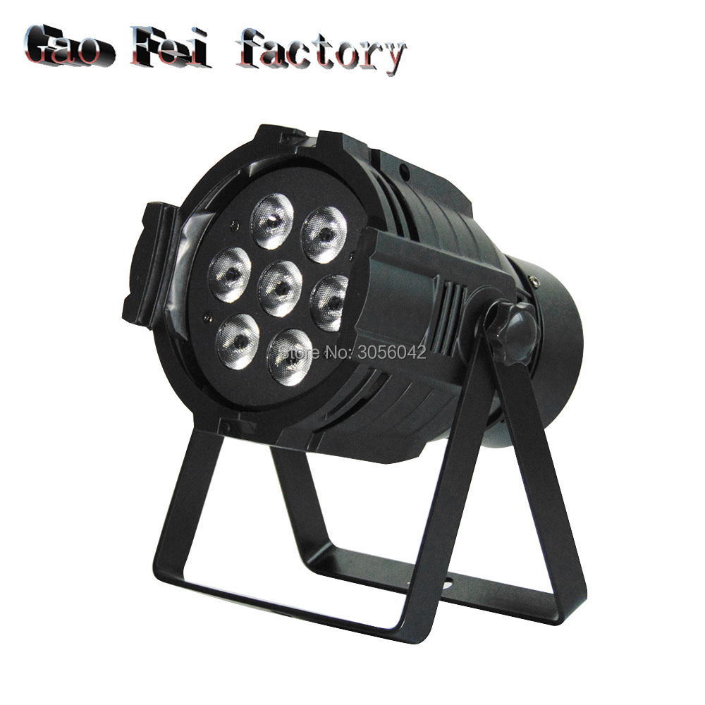 Cast aluminum LED Stage Lights 12 RGBW PAR DMX LED Stage Lighting Effect DMX512 Master-Slave dj Light for Disco Party KTV 2pcs lot professional 36x3w rgb flat par led dmx stage lighting effect dmx512 master slave led flat for dj disco party ktv bar