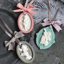 Angel baby силиконовая гипсовая форма подвеска силиконовые формы aramo гипсовая форма