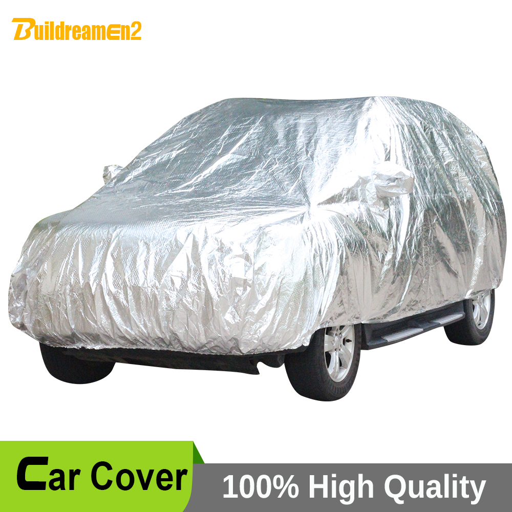 Buildreamen2 Waterproof Full Car Cover Indoor Outdoor Sun UV Snow Rain Hail Dust Resistant Paint Protection Thicken Car Covers buildreamen2 waterproof car covers sun snow rain hail scratch dust protection cover for mercedes benz gle 350 400 450 300 320