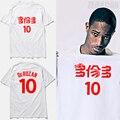 Demar derozan jersey 2017 verano 10 # derozan blanco basketbal camiseta Toronto camiseta de la impresión Blanco negro rojo púrpura S-XXXL, tx2409