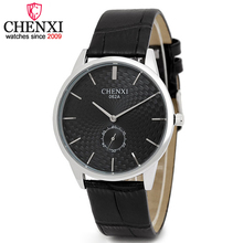 CHENXI Brand Watches Men Luxury Fashion Small Work Watch Dial Design Quartz Male Wristwatch Top Leather Man Analog Clock Relojes
