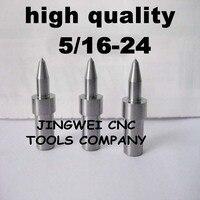 Hartmetall fluss drill America system UNF 5/16-24 (7,4mm) rund, form bohrer für edelstahl