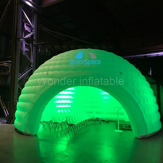 Hot selling pop up led lighting outdoor inflatable dome tent inflatable igloo air dome tent event & Hot selling pop up led lighting outdoor inflatable dome tent ...