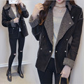Xl-5Xl Plus Size Women Autumn Jackets And Coats Thicken Warm Female Vintage Coats Fashion Causal Jackets Wt1081