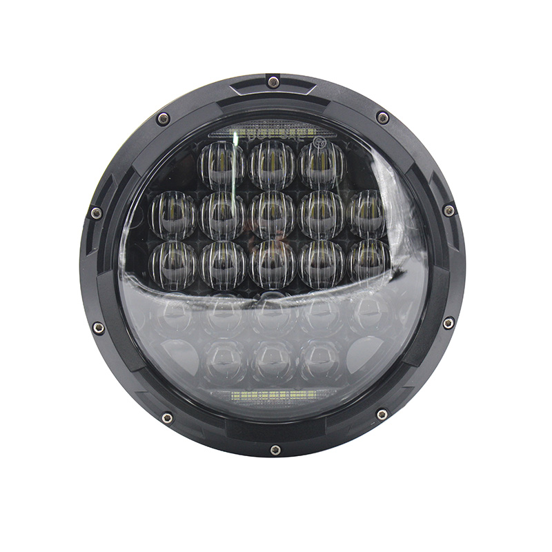 2 pcs 7inch led headlight with 5d lens drl white for for hummer h1&h2 patrol y60 jeep wrangler jk tj cj 2017 Newest 5D Combo Super Bright 126W LED Headlight with DRL For Jeep Wrangler JK TJ LJ CJ ( Pair)