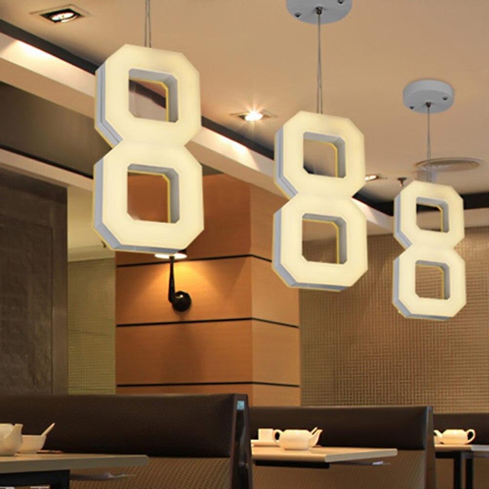 smd led luces pendientes modernas de cocina de acrlico suspensin lmpara colgante de techo iluminacin para with iluminacion para comedor