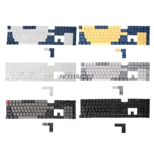 Top Printed DSA Thick PBT Keycap for Mechanical font b Keyboard b font 108 Keys Iso