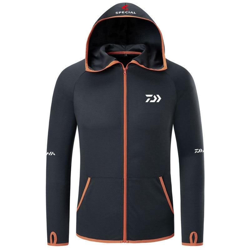 2019 nouveau Daiwa glace soie imperméable pêche chemises Tech Antifouling en plein air Sport pêche vêtements hommes séchage rapide randonnée chemise