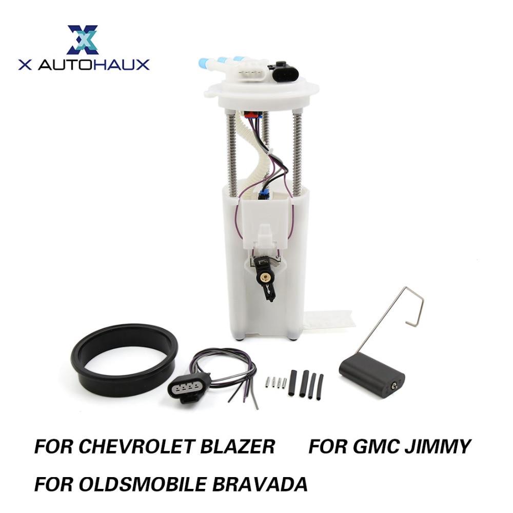 X AUTOHAUX E3992M 19177220 Fuel Pump Module Assembly For Chevrolet Blazer V6 4.3L 1998-2005 For GMC JIMMY For Oldsmobile BRAVADA secondary air pump for 04 05 trailblazer gmc envoy oldsmobile bravada dts 4 2l