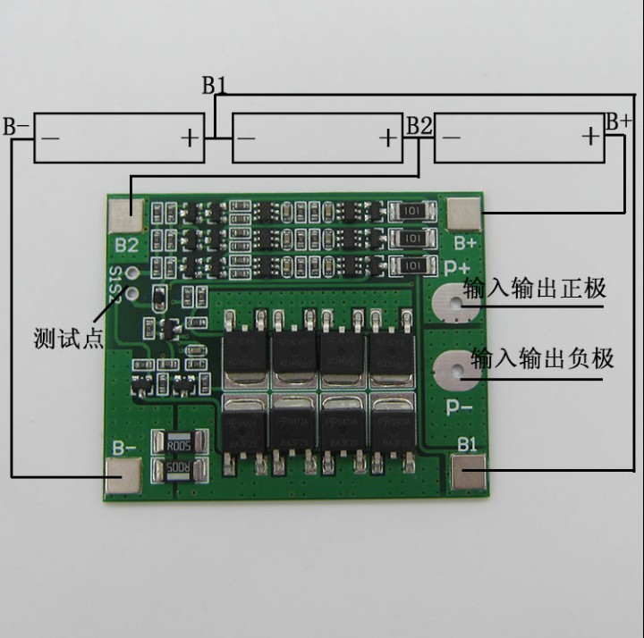 3 S 25A Li-Ion 18650 BMS PCM Батарея защиты доска BMS pcm с баланса для литий-ионных lipo Батарея обновления клеток Модуль Новые
