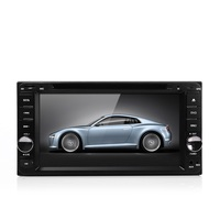7 Inch HD 2 Din Car DVD Player Russian Portuguese Spainese, FM Bluetooth Mic Rearview In Dash Stereo Radio MP4 Video Player