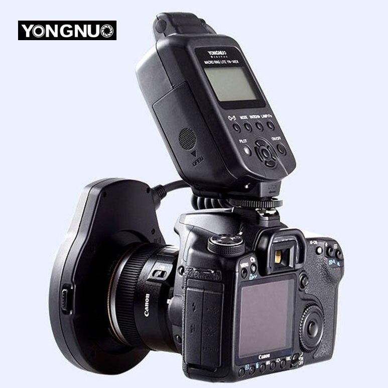 Yongnuo YN 14EX ttl 5600 к макро кольцо вспышки света для камер Canon режим вспышки ttl M изолированные ворота биполярный транзистор