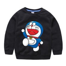 Kids Baby Boys Cartoon Long Sleeves Sweatshirt