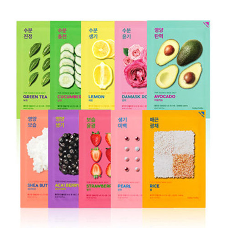 Holika Holika Pure Essence Mask Sheet 3pcs Face Mask