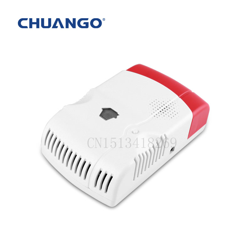 ФОТО Chuangkesafe 315MHZ Chuango Wireless Home Hotel Gas Leakage Detector alarm Chuango GAS-88 for home DHL  Free Shipping