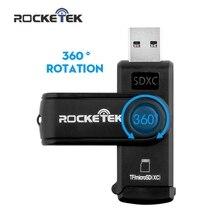 Rocketek same time read 2 cards USB 3.0 Memory Card Reader 2 Slots OTG phone