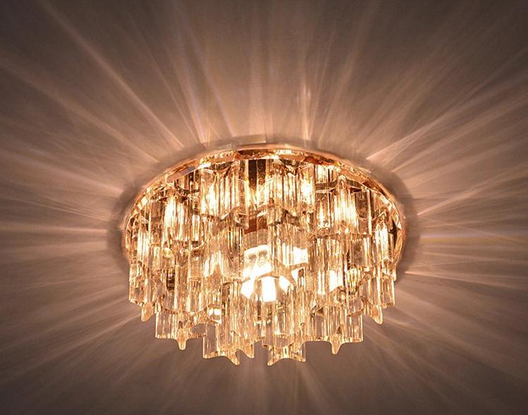 5W kristalne svjetiljke LED stropne svjetiljke svjetiljke za hodnik - Unutarnja rasvjeta - Foto 5