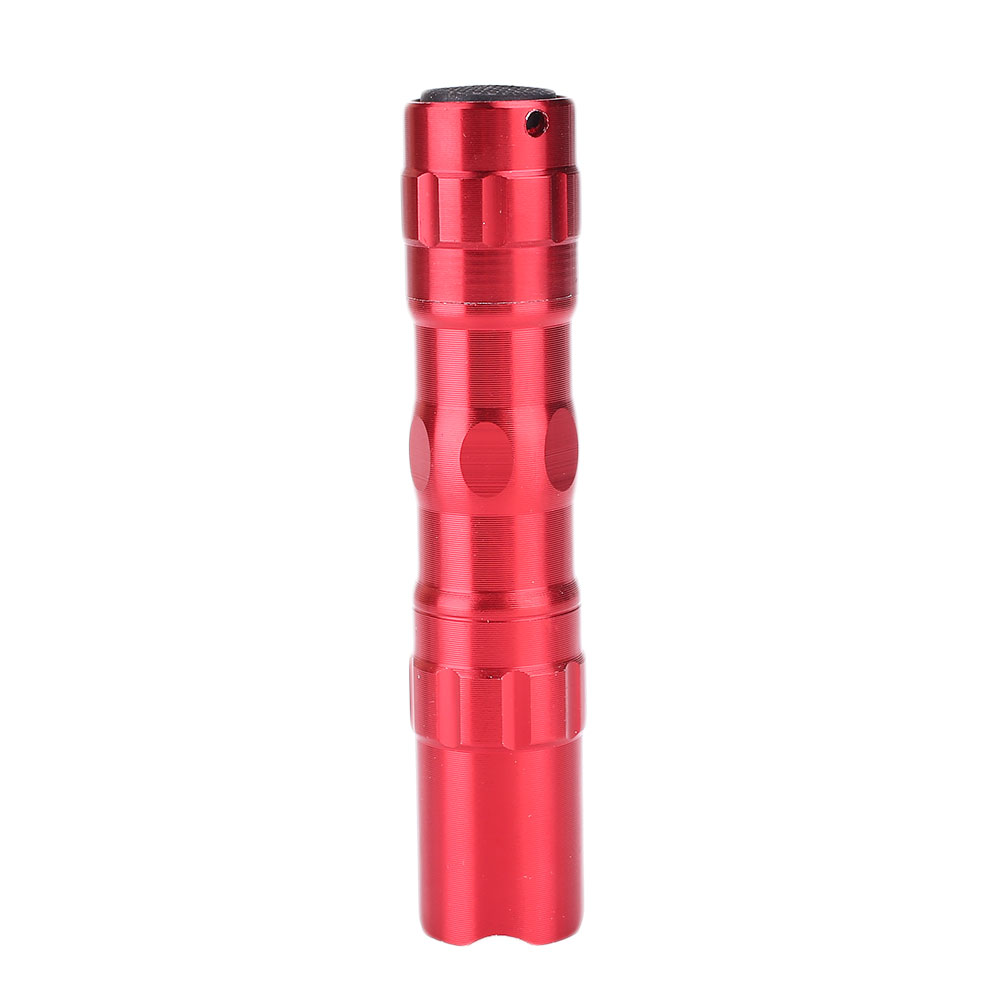 Mini LED Torch Outdoor Camping Caving Flashlight Strong Light Aluminum Alloy 3W