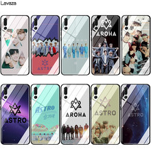 Lavaza KPOP ASTRO Glas TPU Case voor Huawei Mate 20 P10 P20 P30 Y6 Y9 P smart lite Pro 2018 2019(China)