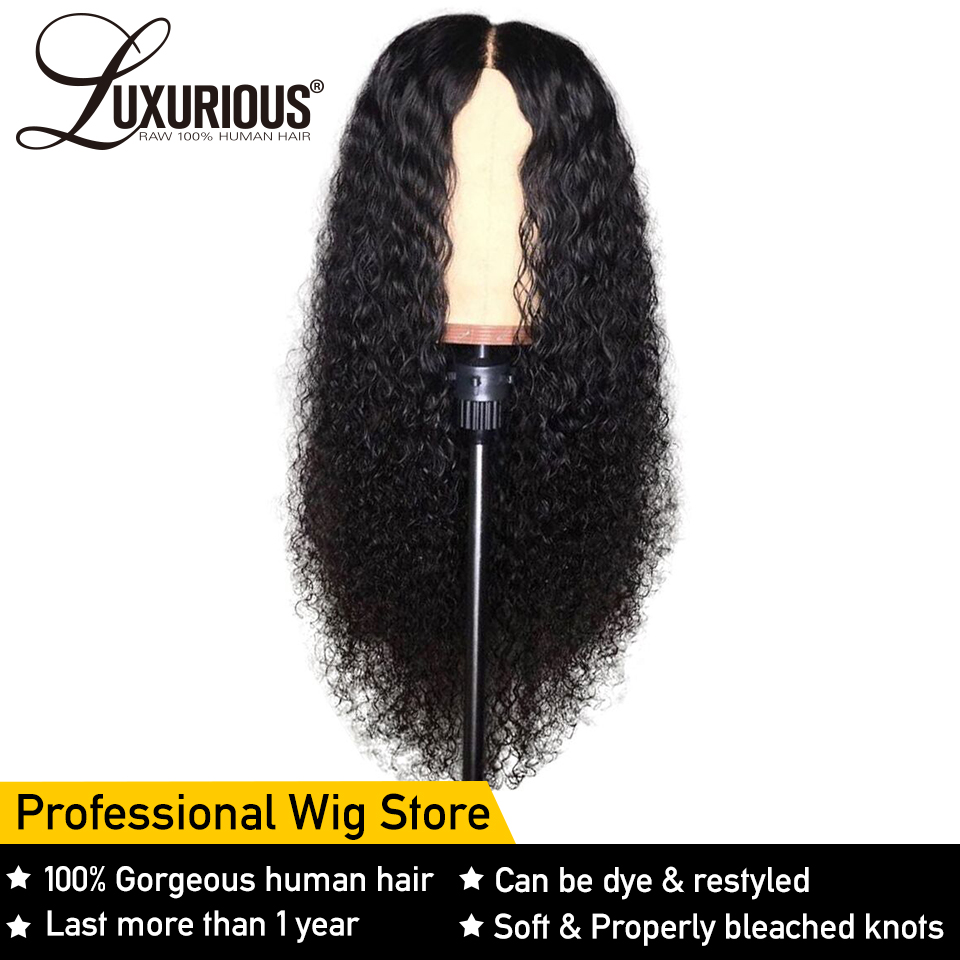 Curly Human Hair Wig Natural Color Bleached Knots Brazilian Remy Hair Lace Front Human Hair Wigs With Baby Hair Full End(China)