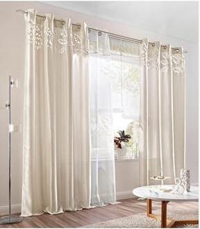 Vorhange Wohnzimmer Beige. vorhnge beige neutrale farbe braunes ...