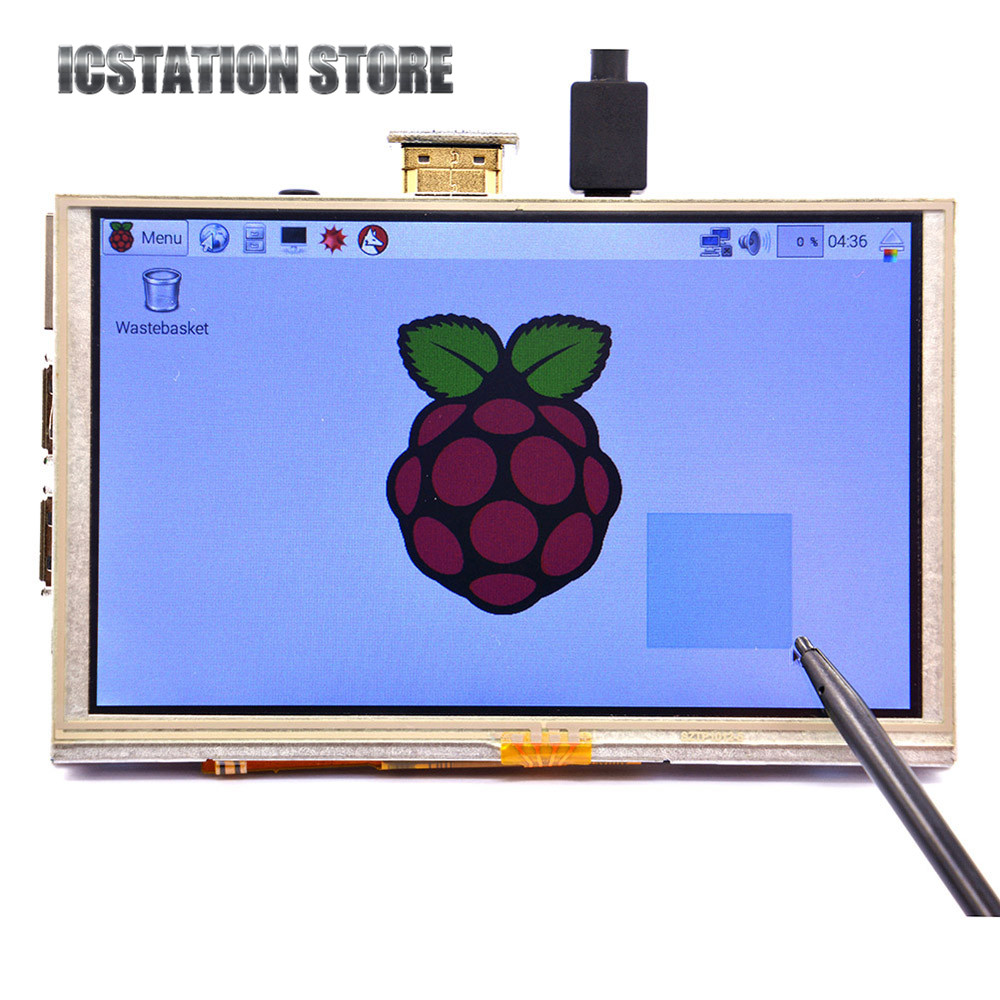 5 Inch 800*480 HDMI TFT LCD Touch Screen For Raspberry PI 3 Model B/2 Model B / B+ / A+ / B 4 inch hdmi lcd ips screen 800 480 pixel for raspberry pi model b b raspberry pi 2 model b