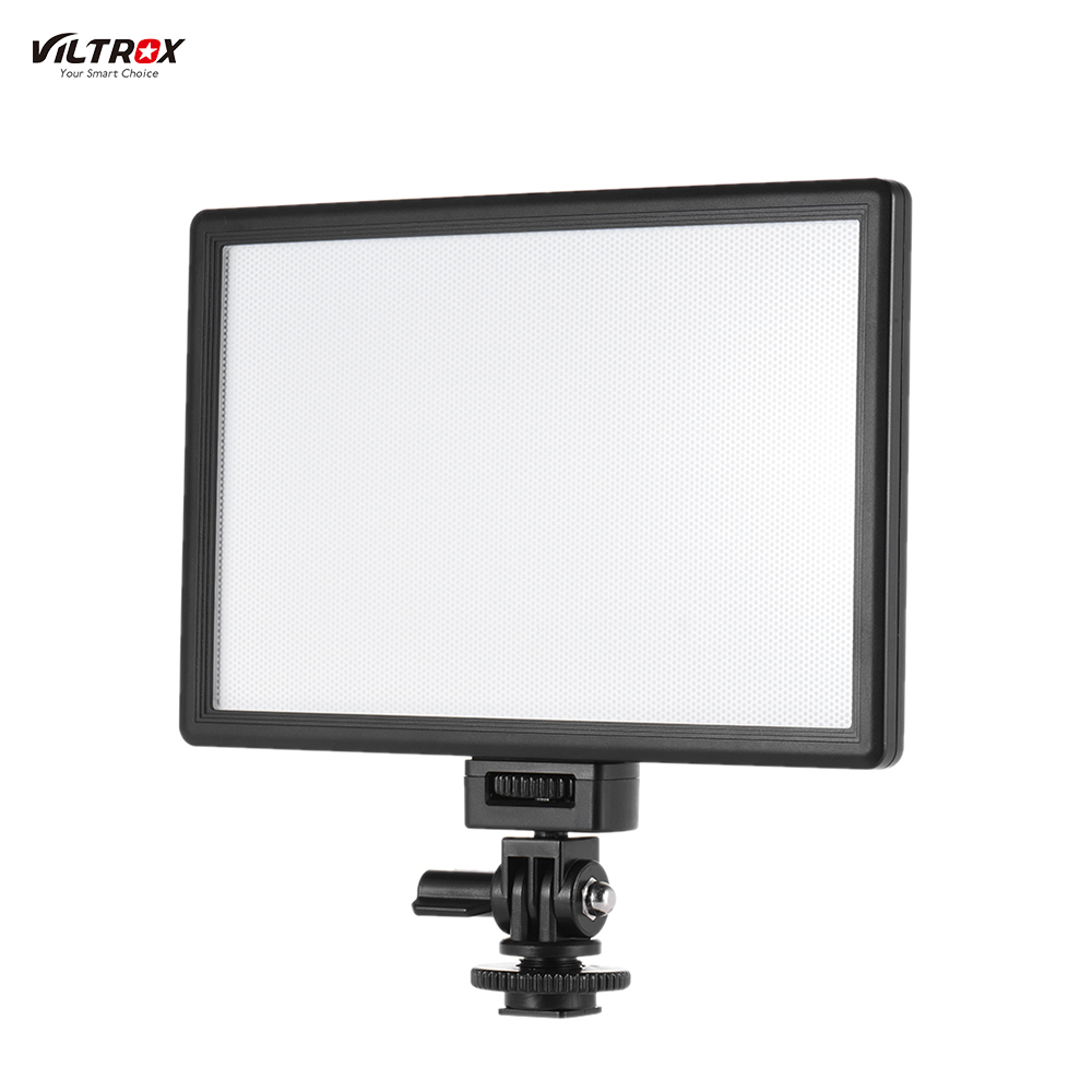 L116T LCD Display Bi Color Dimmable Slim DSLR Video LED Light Battery Charger for Canon Nikon
