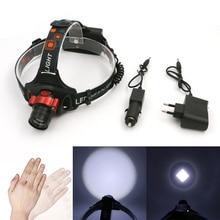 Mini LED Headlamp headlight 3 Mode Energy Saving Outdoor Sports Camping Fishing Head Lamp LED Flashlights red
