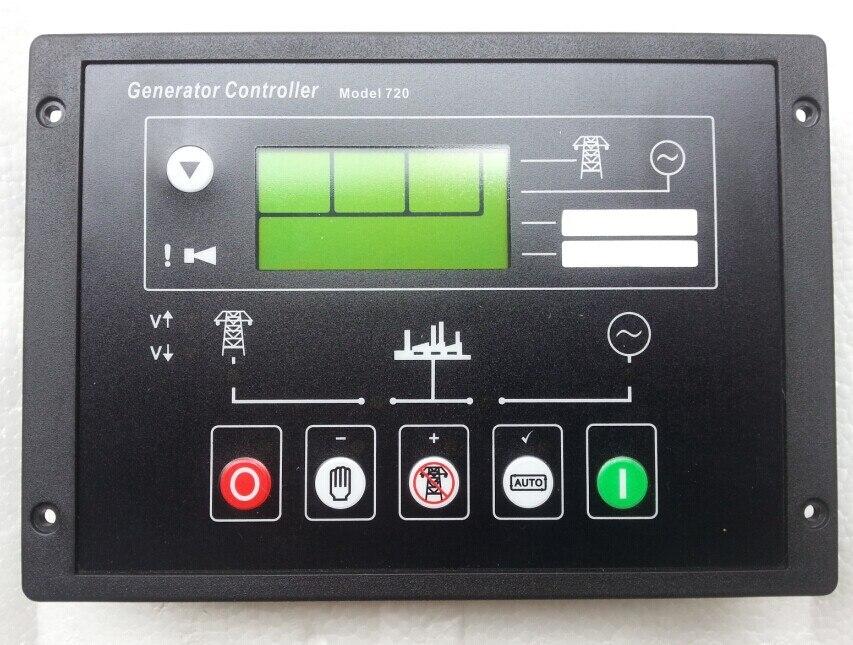 Generator Automatic Start Controller Module 720 replace DSE720 free shipping deep sea generator set controller module p5110 generator control panel replace dse5110