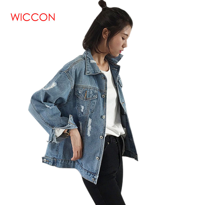 Women   Basic   Coat Denim   Jacket   Women Spring Wear Denim   Jacket   For Women Jeans   Jacket   Women Denim Coat Loose Fit Casual Style